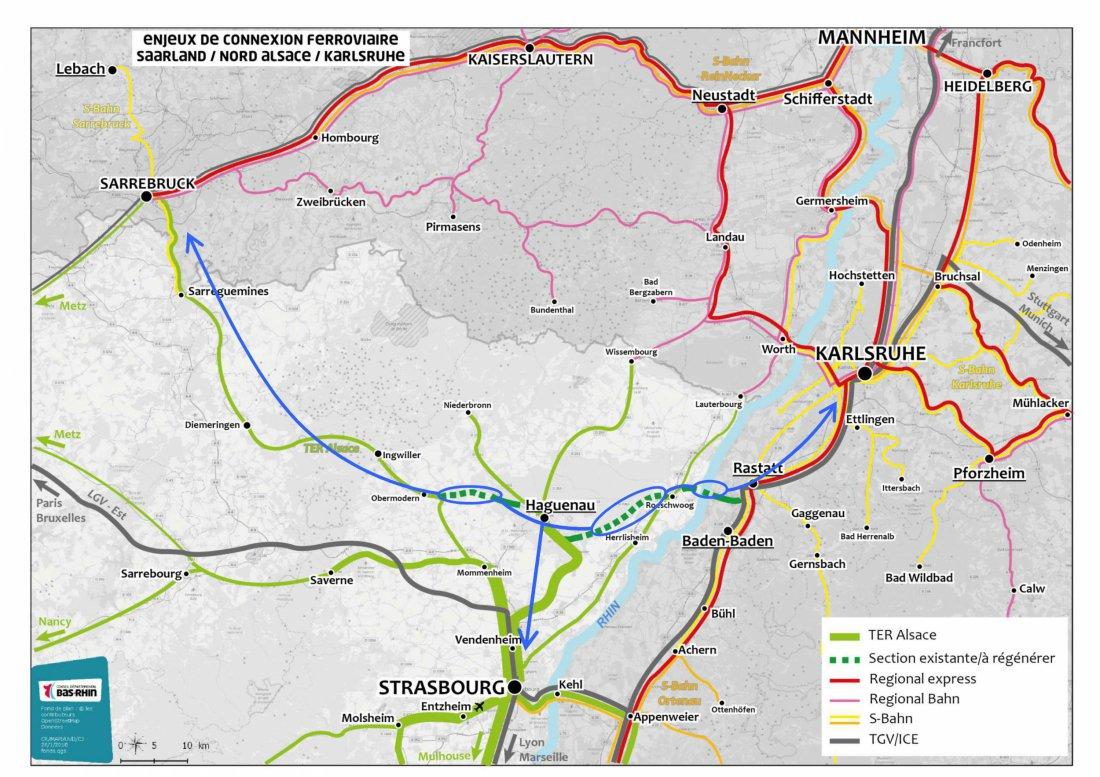Carte Ferroviaire Alsace.Reactivation De La Ligne Ferroviaire Transports Mobilite