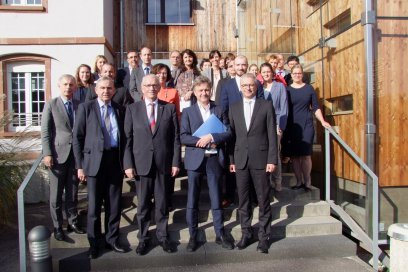 Photo de groupe Bassin d'emploi INTERREGV Kick-Off