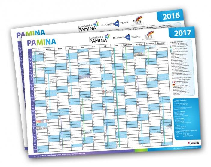 Le calendrier des vacances scolaires PAMINA