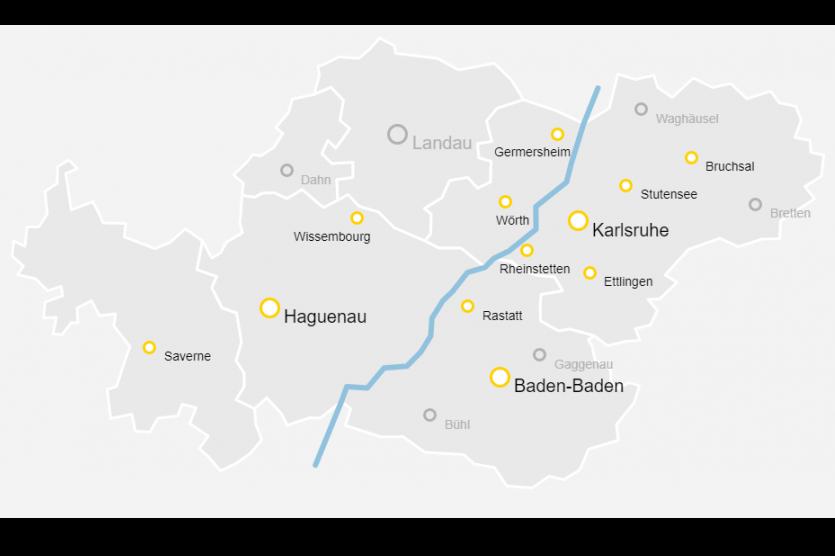 Ein neues grenzüberschreitendes Mobilitätsportal für den Eurodistrikt PAMINA
