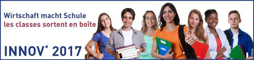 INNOV 2017 Wirtschaft macht Schule Les classes sortent boîte